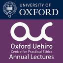Uehiro lectures podcast album logo