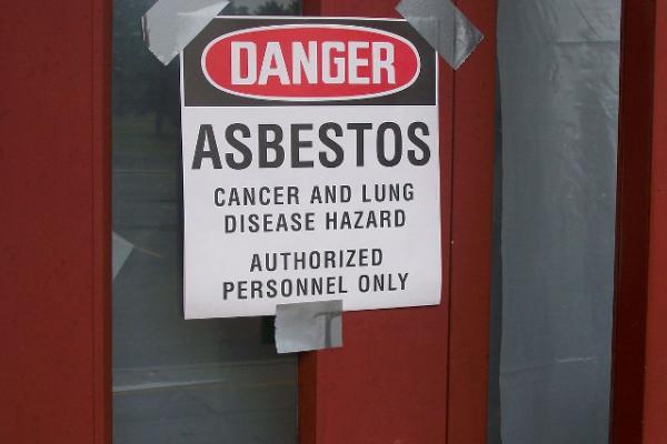 asbestos notice