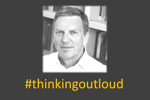 Thinking Out Loud logo with Julian Savulescu