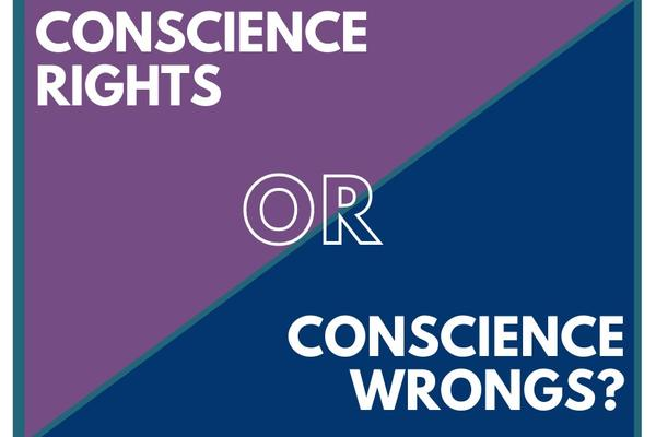 """Oxford Uehiro Centre """"Conscience Rights OR Conscience Wrongs? logo"""