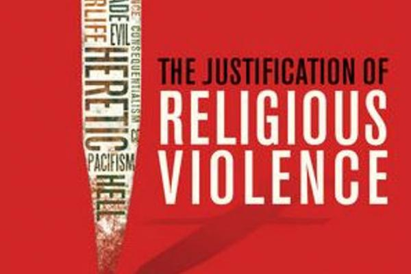 book cover justification of religious violence