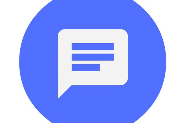 speechbubble logo for feedback button