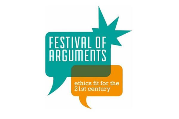 small Festival of Arguments logo in full colour