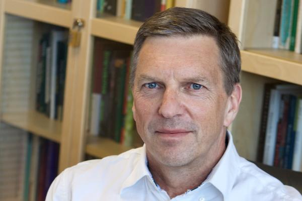 Professor Julian Savulescu in his office