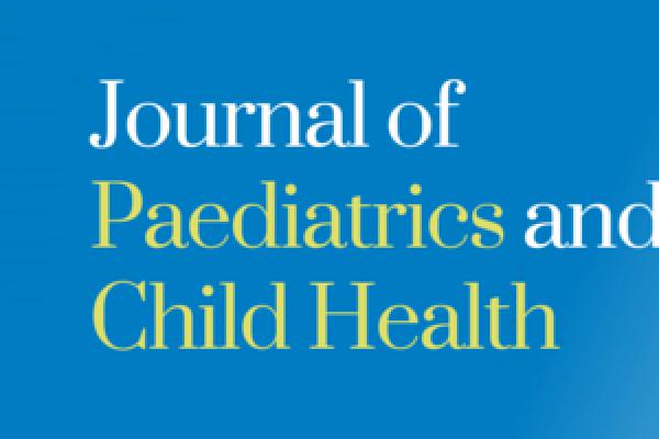 journal of paediatrics and child health