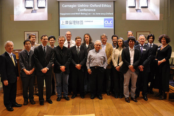 Group photo of Uehiro Carnegie Oxford conference speakers
