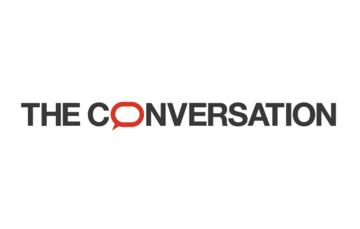 The conversation, online academic magazine, logo